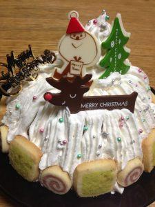 簡単クリスマスケーキ2014