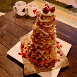 HMで簡単クリスマスケーキ