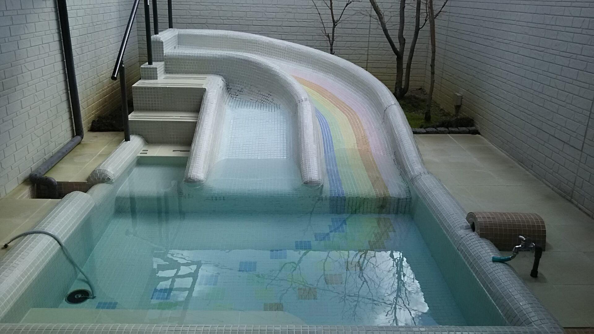 熊本の滑り台つき温泉といえば山鹿の家族風呂『露天湯 椛』体験レビュー